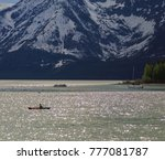 jackson lake in the grand... | Shutterstock . vector #777081787