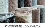 carpets variety selection... | Shutterstock . vector #777103747