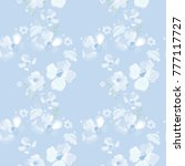floral seamless pattern.... | Shutterstock .eps vector #777117727