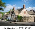 ancient ram inn  former 12th... | Shutterstock . vector #777138313