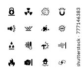 influence icons. flat simple... | Shutterstock . vector #777146383