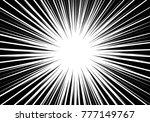 abstract black radial zoom line ...   Shutterstock .eps vector #777149767