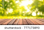 abstract wooden floor with... | Shutterstock . vector #777173893