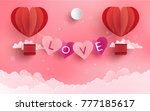 illustration symbol of love... | Shutterstock .eps vector #777185617