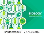 scientific laboratory research... | Shutterstock .eps vector #777189283