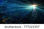 data transmission channel....   Shutterstock . vector #777221557