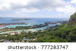 aerial view of mahe' coastline... | Shutterstock . vector #777283747