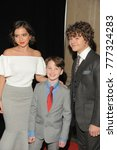 Small photo of NEW YORK, NY - DECEMBER 17: (L-R) Isabela Moner, Iain Armitage, and Gaten Matarazzo attend CNN Heroes 2017 at the American Museum of Natural History on December 17, 2017 in New York City.