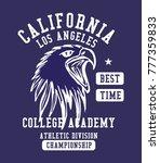 california los angeles college... | Shutterstock .eps vector #777359833