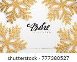 frohe weihnachten. xmas... | Shutterstock . vector #777380527