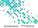 light blue vector pattern.... | Shutterstock .eps vector #777424213