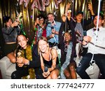 people enjoying a party | Shutterstock . vector #777424777