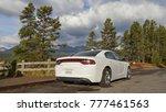 dodge charger sxt. a sports car ... | Shutterstock . vector #777461563