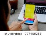 chiang mai thailand   dec 08 ... | Shutterstock . vector #777465253