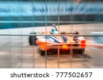 Abstract Motion Blur Racing...