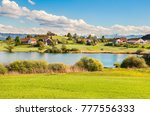 the beautiful landscape of... | Shutterstock . vector #777556333