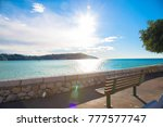 morning over the sea. cote d... | Shutterstock . vector #777577747