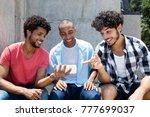 groupon african american an...   Shutterstock . vector #777699037