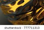 dual graph displacement  3d... | Shutterstock . vector #777711313