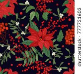 elegant seamless pattern with... | Shutterstock .eps vector #777721603
