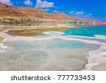summer  israel. the evaporated... | Shutterstock . vector #777733453