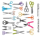 Scissor Vector Set Professiona...