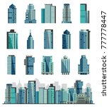 building skyscraper or city... | Shutterstock .eps vector #777778447