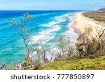 in  australia fraser island the ... | Shutterstock . vector #777850897