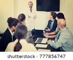 health care american workers...   Shutterstock . vector #777856747