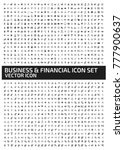 business and finance icon set... | Shutterstock .eps vector #777900637