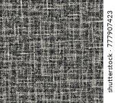 abstract monochrome irregular... | Shutterstock .eps vector #777907423