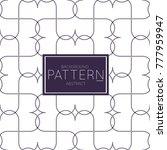abstract geometric vector... | Shutterstock .eps vector #777959947
