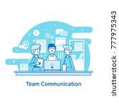 concept of team communication ...