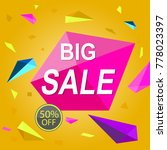sale price isolated original... | Shutterstock .eps vector #778023397