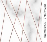 marble texture vector... | Shutterstock .eps vector #778024783
