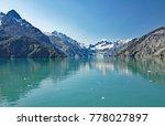 advancing towards margerie... | Shutterstock . vector #778027897