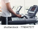 closeup of hands of a man in... | Shutterstock . vector #778047577