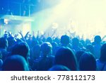the audience watching the... | Shutterstock . vector #778112173