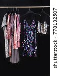 female sequins colorful vest... | Shutterstock . vector #778132507
