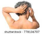 old woman felt a lot of anxiety ...   Shutterstock . vector #778136707