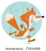 Little Fox Running In The...