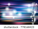 abstract blue white music... | Shutterstock .eps vector #778168423