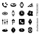 dial icons. set of 16 editable... | Shutterstock .eps vector #778181083