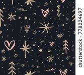 vector  clip art. festive ... | Shutterstock .eps vector #778224697