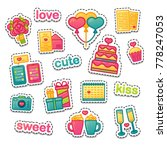 set color design icon for... | Shutterstock .eps vector #778247053