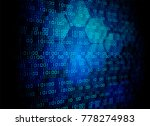 binary circuit board future... | Shutterstock .eps vector #778274983