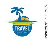 vector logo travel | Shutterstock .eps vector #778276273