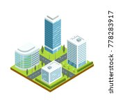 urban architecture 3d isometric ... | Shutterstock .eps vector #778283917