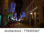 genoa  genova   italy  december ... | Shutterstock . vector #778305367