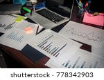 business finance  accounting ... | Shutterstock . vector #778342903